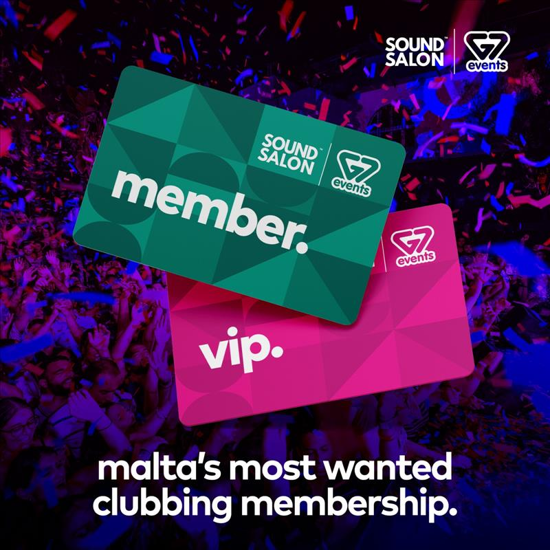 G7 EVENTS & SOUND SALON - 2020 MEMBERSHIP CARD flyer