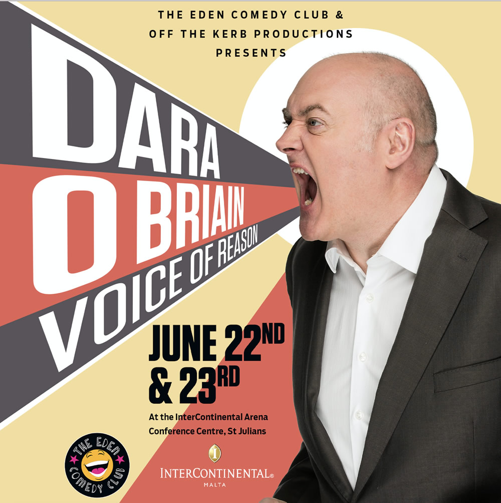Dara O Briain:  Voice Of Reason flyer