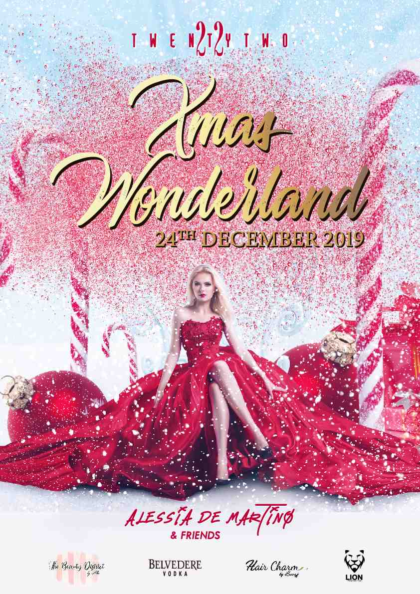 Xmas Wonderland at Club TwentyTwo! flyer
