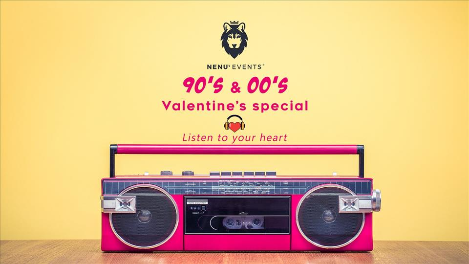 90's & 00's - Valentines Special flyer