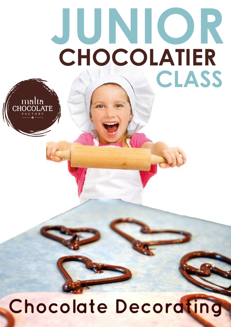 Junior Chocolatier Class flyer