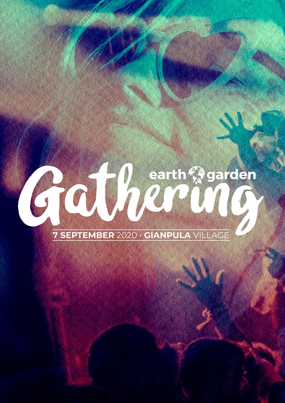 Earth Garden Gathering flyer