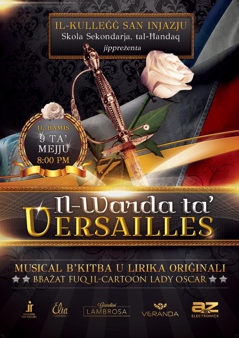 Il-Warda ta' Versailles flyer