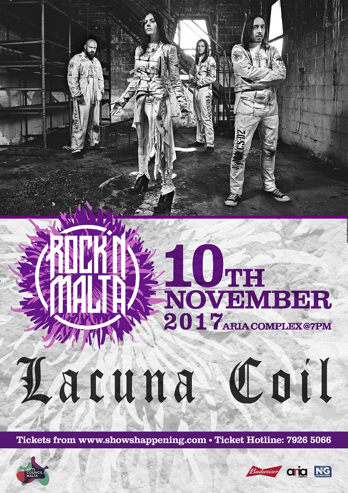 Lacuna Coil flyer