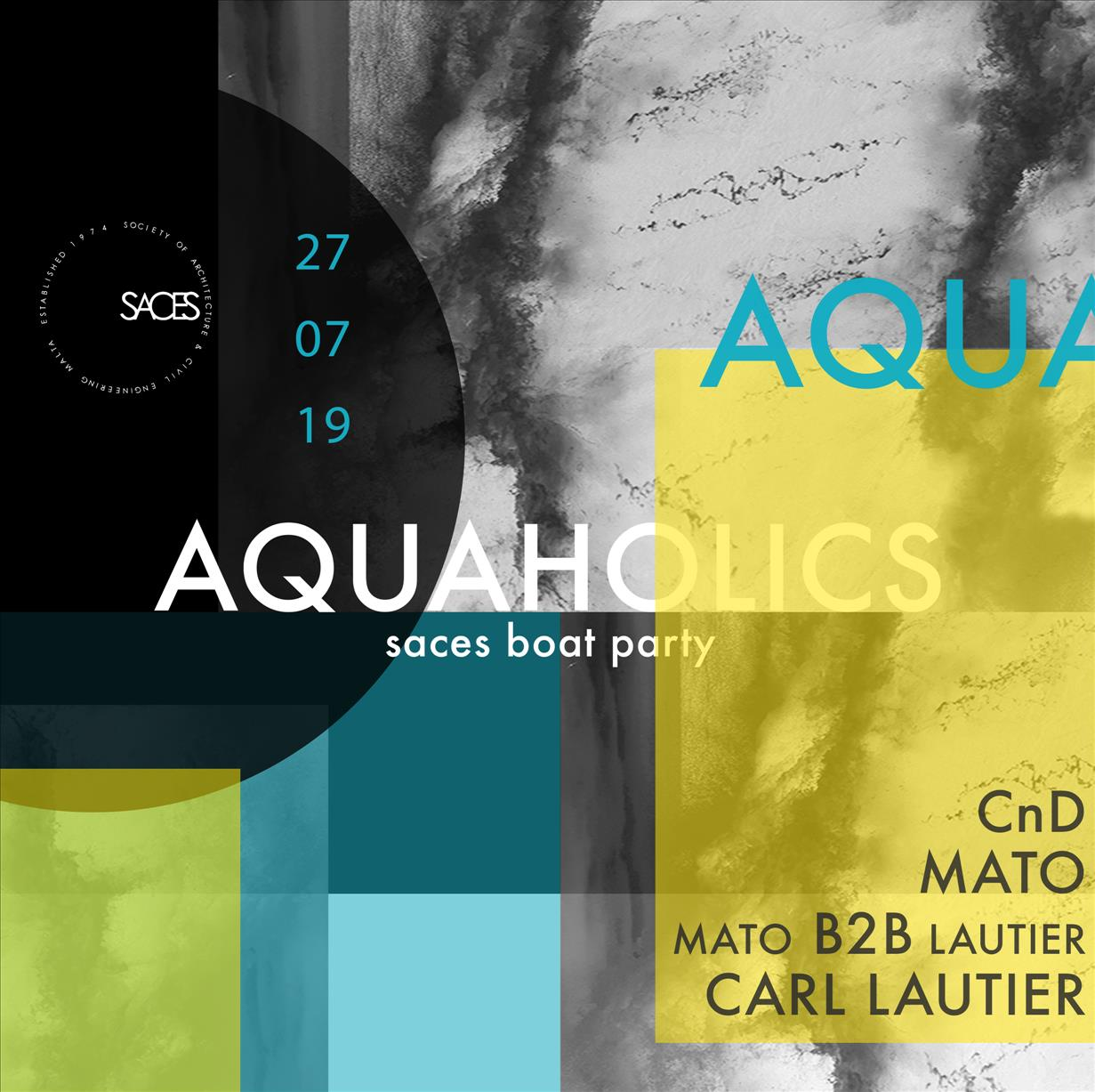 Aquaholics flyer