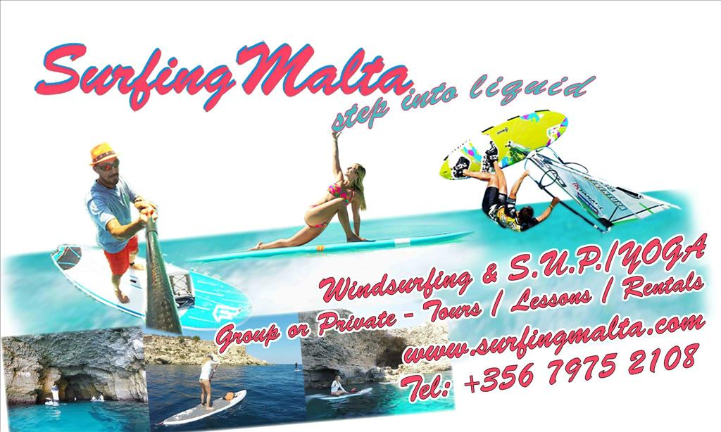 Windsurfing & Paddleboarding School Malta flyer