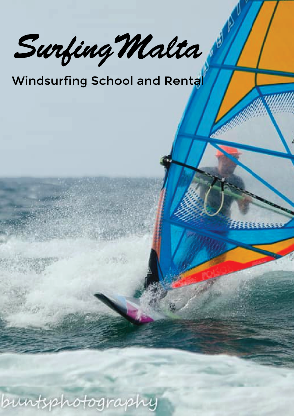 Windsurfing School and Rental - Surfing Malta poster