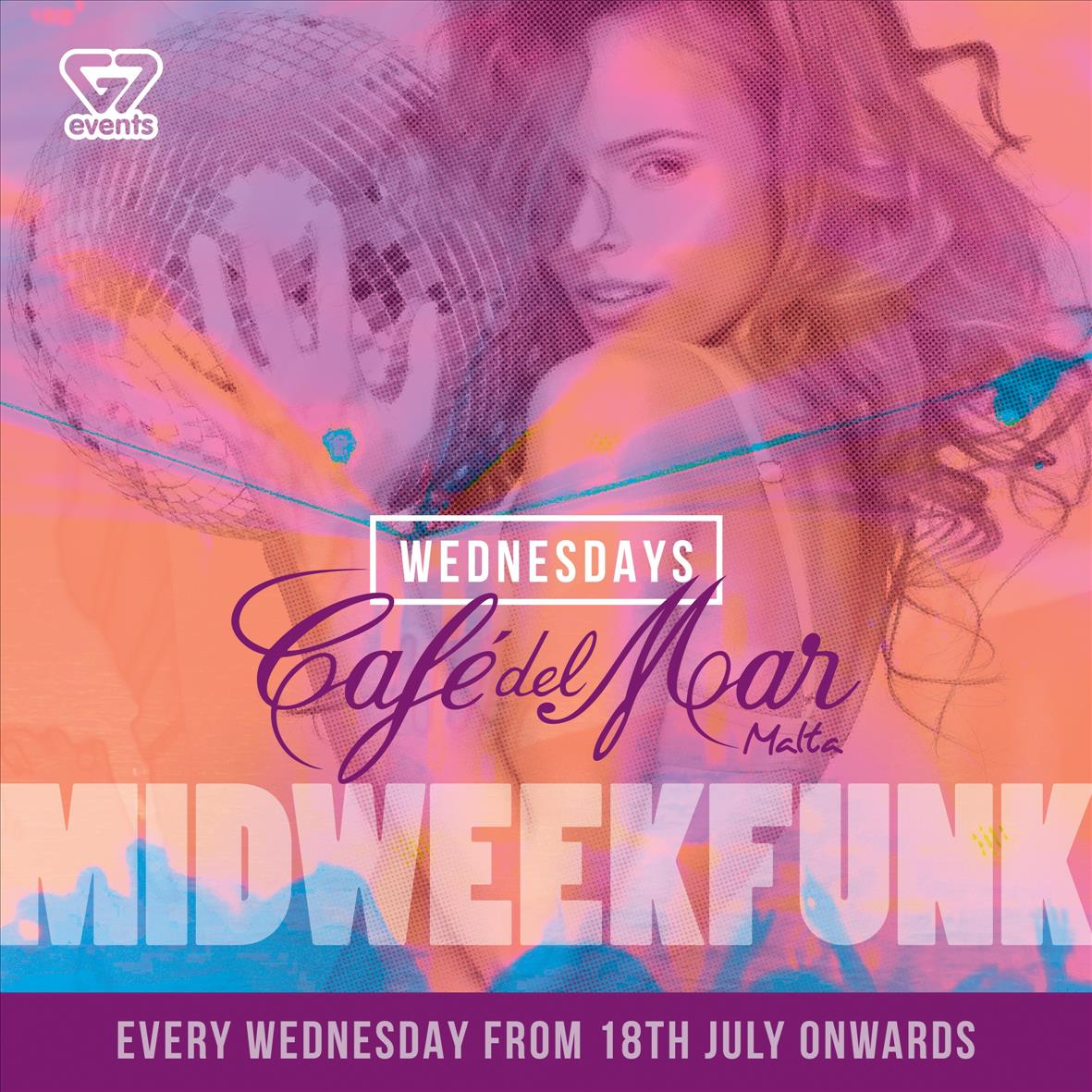 Café Del Mar G7 Wednesdays flyer