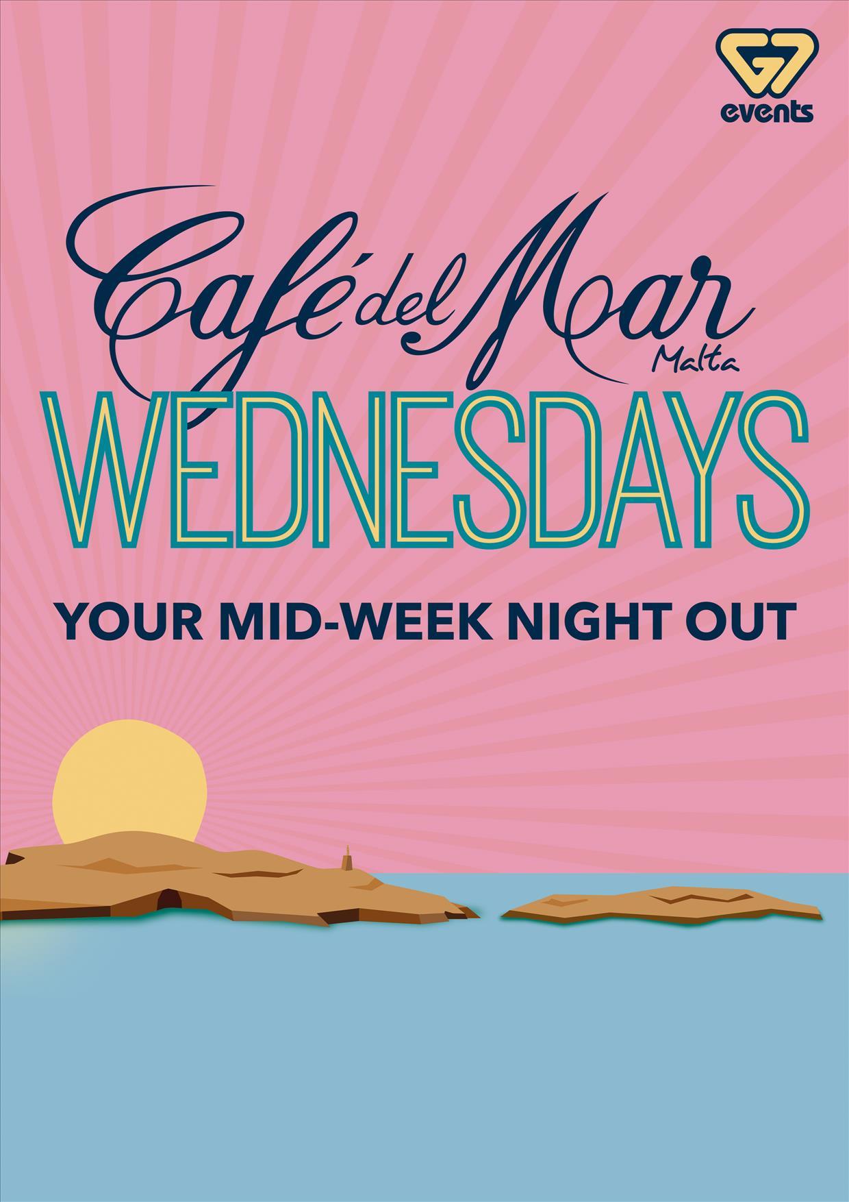 Cafe del Mar G7 Wednesdays 2017 flyer