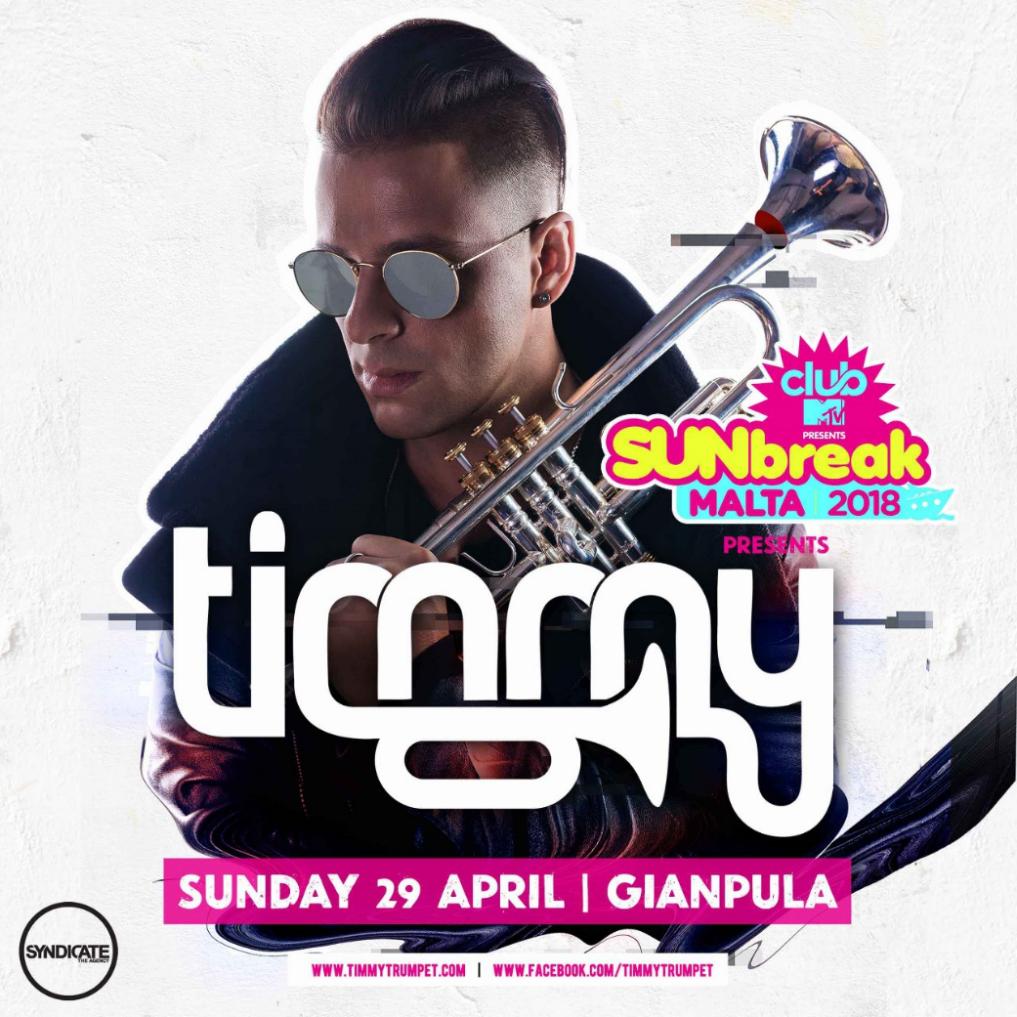 SUNBREAK 2018 - DAY 2 - Timmy Trumpet @ Gianpula flyer