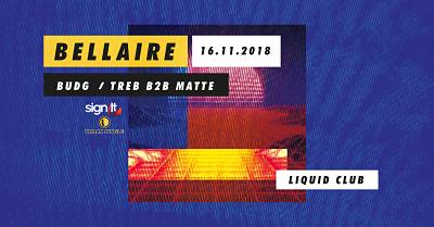 Midnite Snack Presents Bellaire. flyer