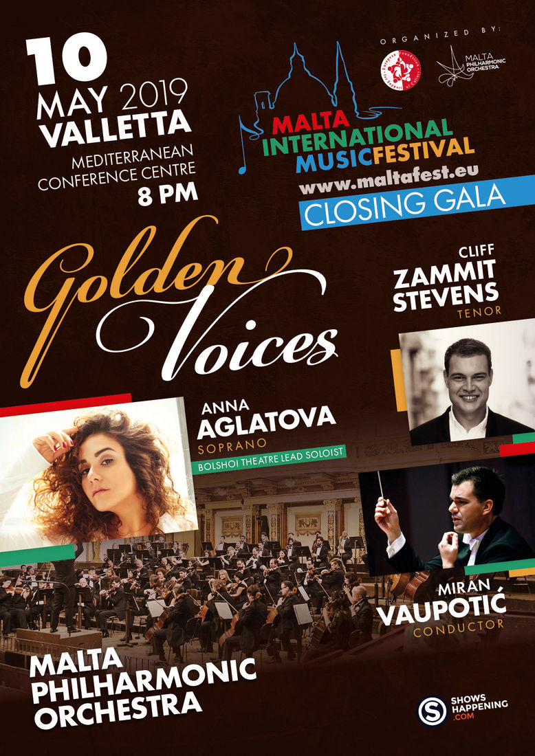 Golden Voices - Closing Gala flyer