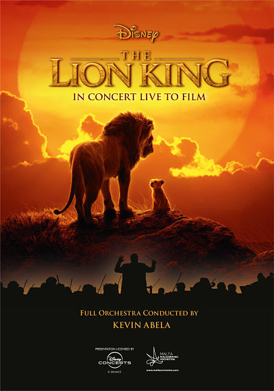 The Lion King flyer