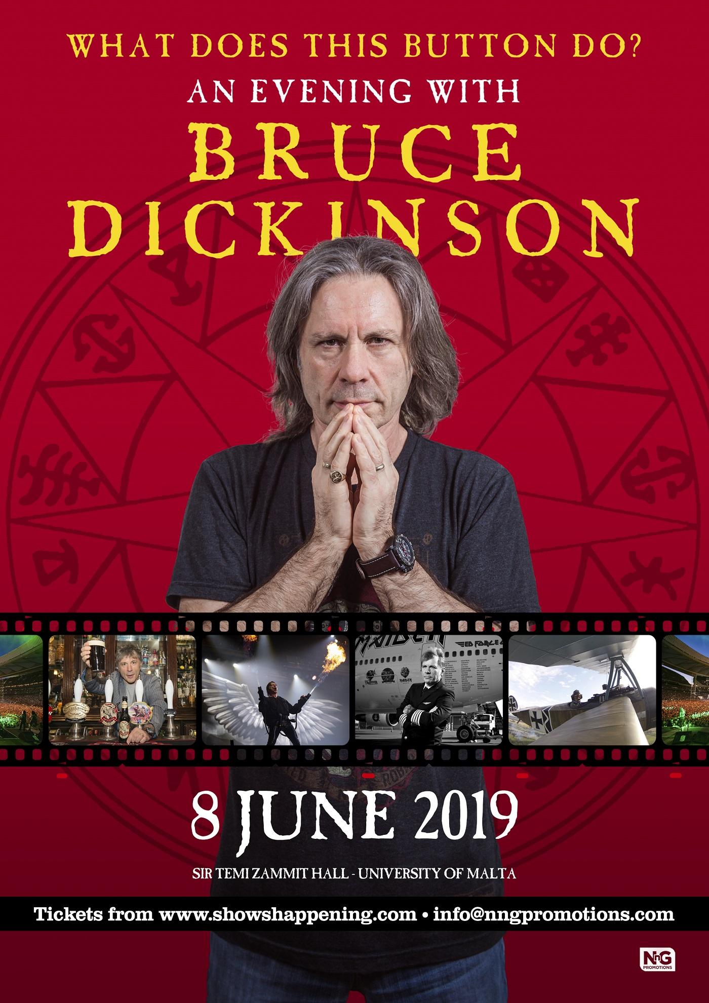 Bruce Dickinson flyer