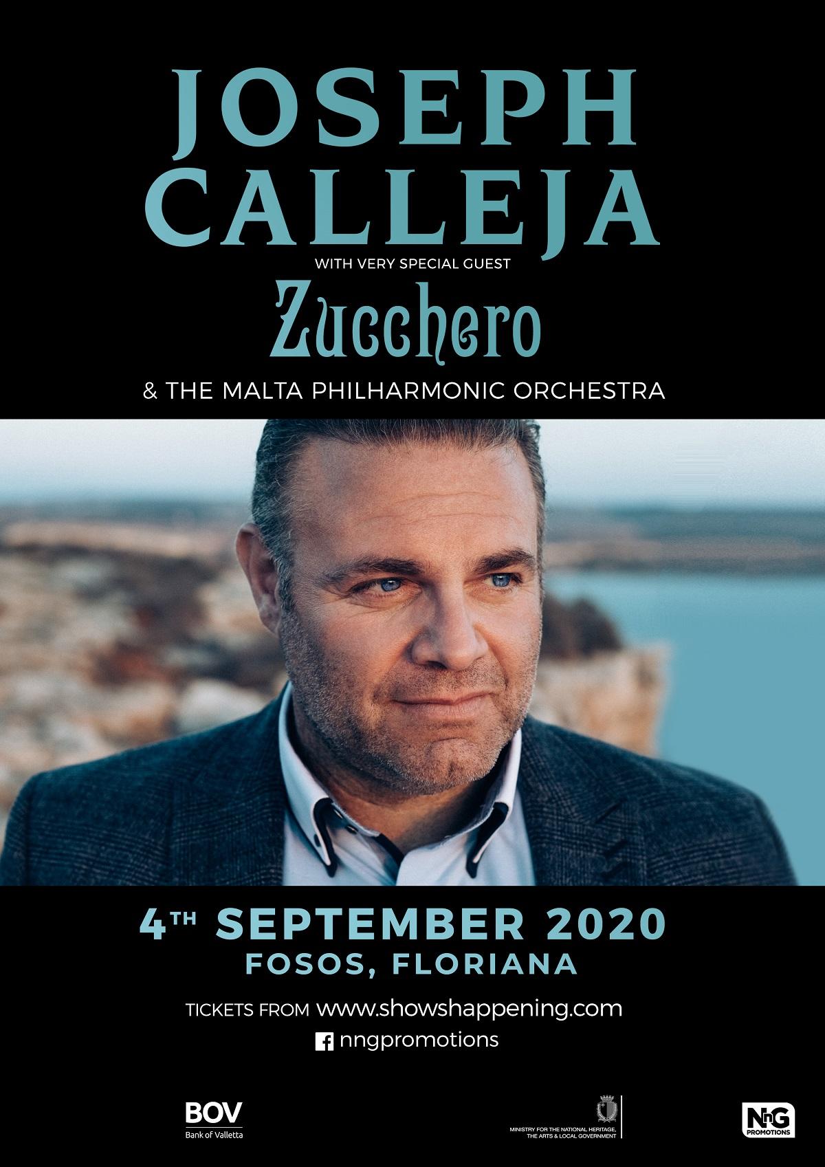 Joseph Calleja 2020 flyer