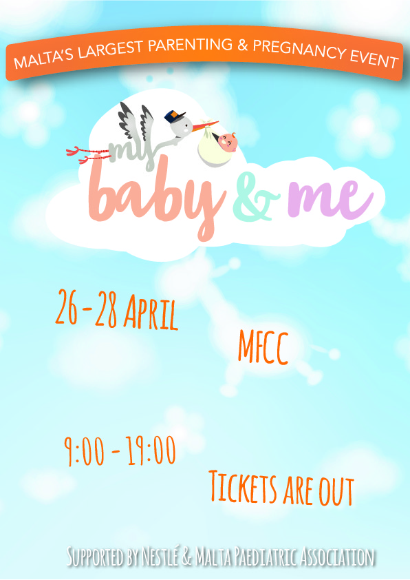 My Baby & Me; Parenting Masterclasses (Stage 1) flyer