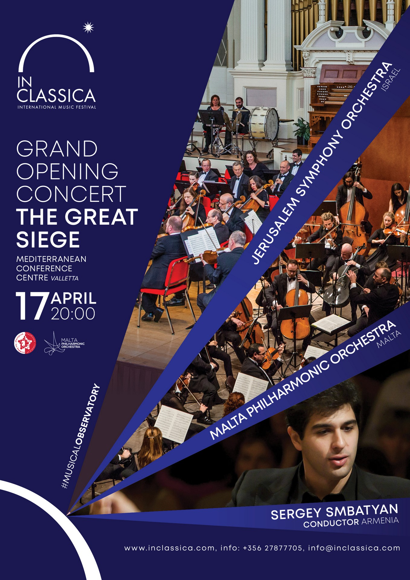 InClassica: GRAND OPENING CONCERT | THE GREAT SIEGE flyer