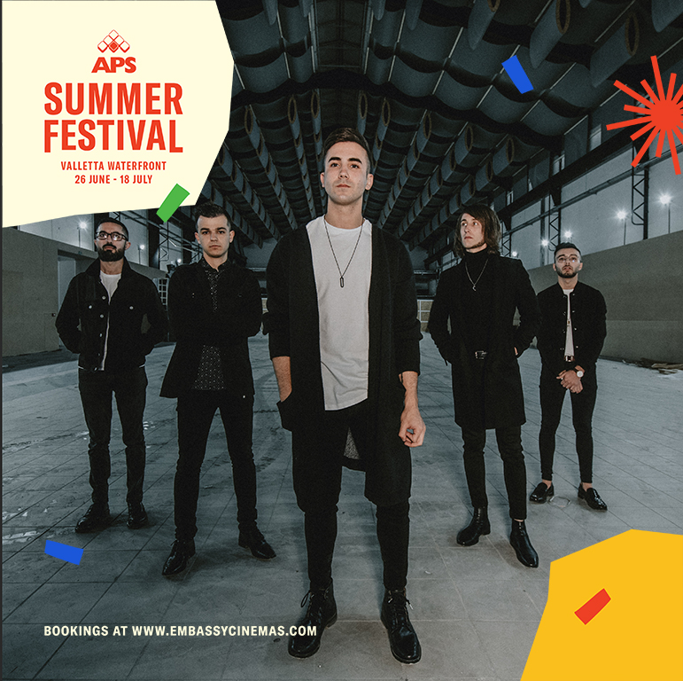 Red Electrick - APS Summer Festival flyer