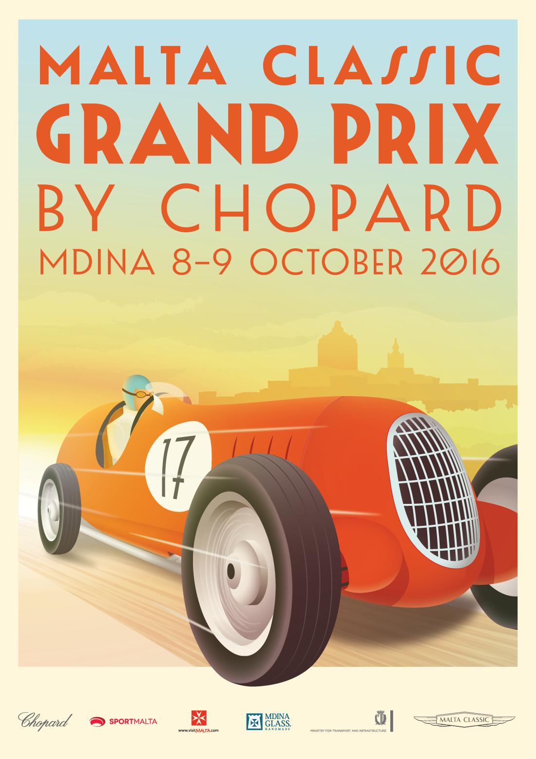 Malta Classic Grand Prix by Chopard flyer