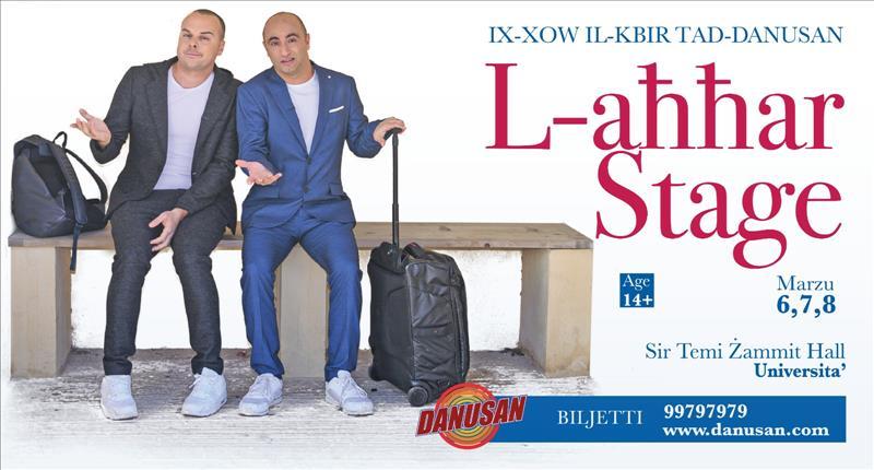 L-Ahhar Stage - Ix-xow il-kbir tad-DANUSAN 2020 flyer