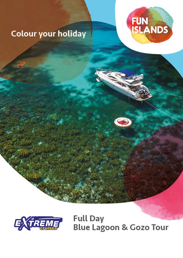 Extreme Cruise Comino Blue Lagoon & Gozo Tour
