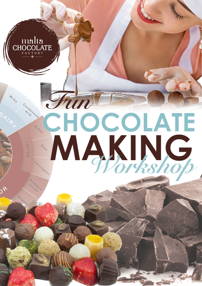 Adult Chocolate Making Workshop flyer