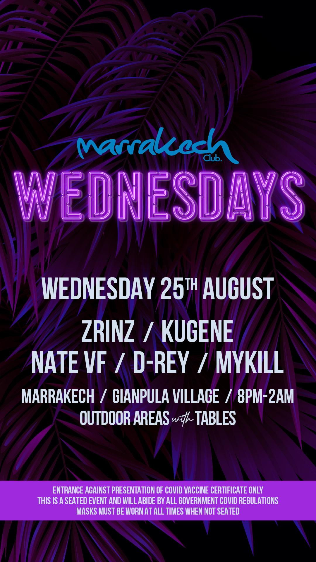 Marrakech Wednesdays poster