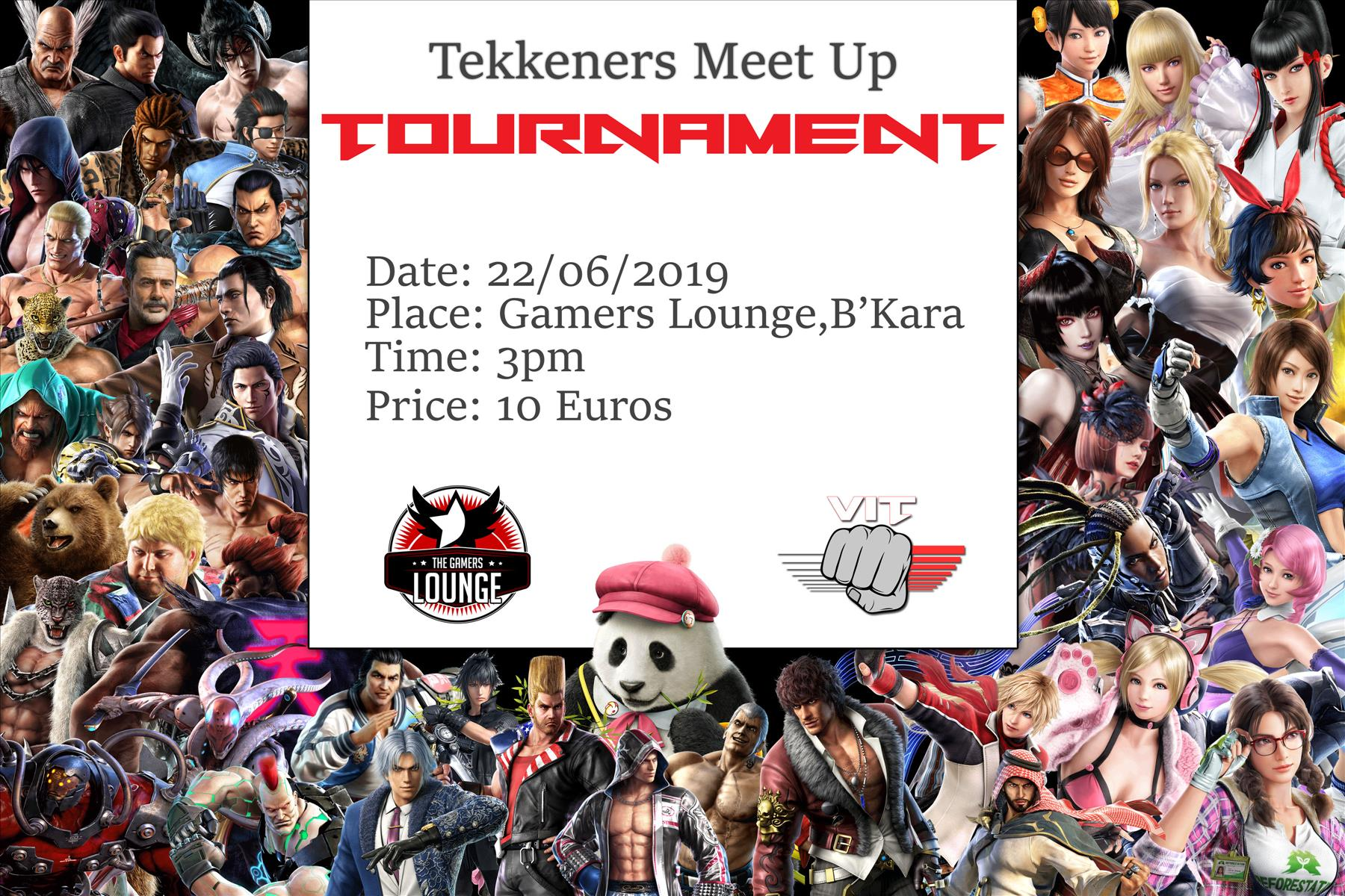 Tekkeners Meet Up flyer