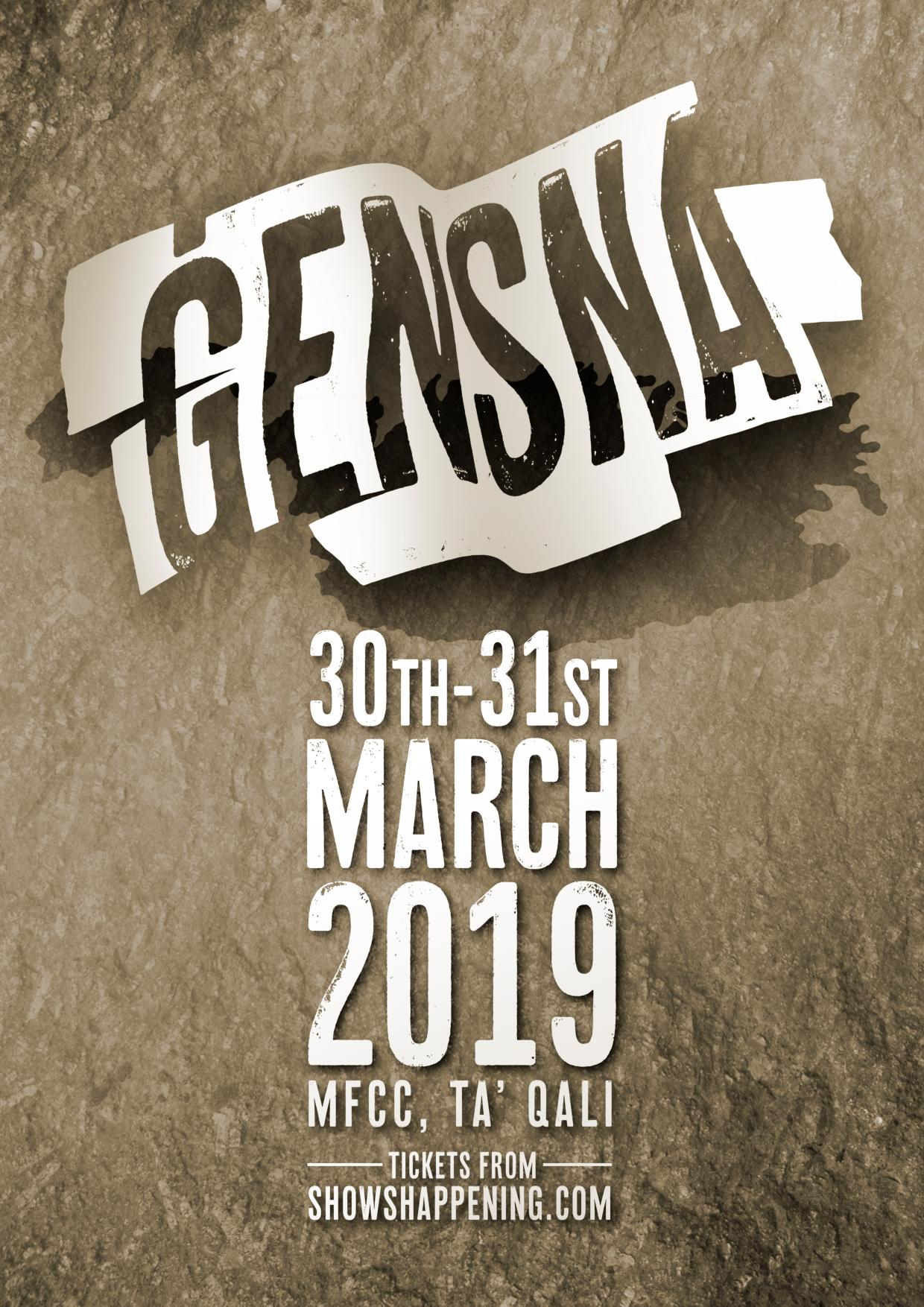 Gensna 2019 flyer