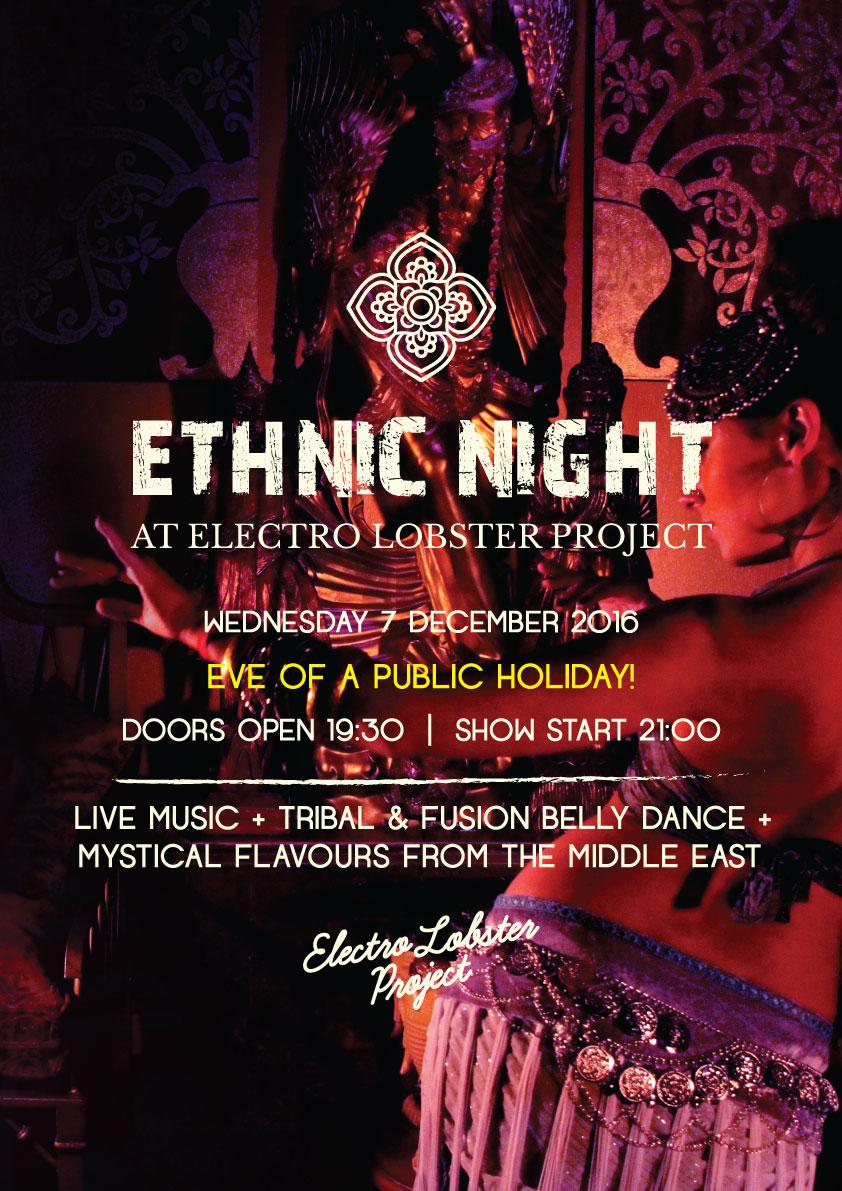 Ethnic Night flyer