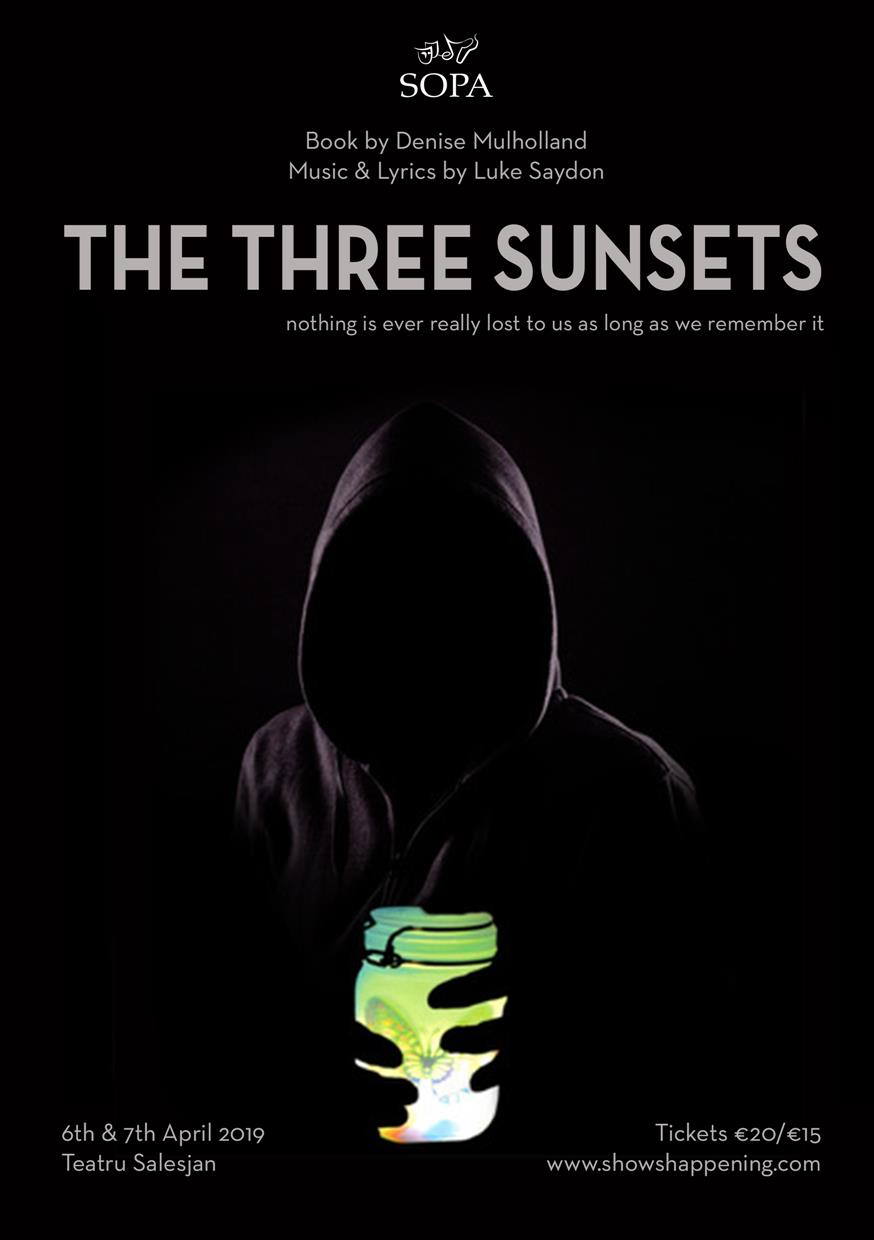 The Three Sunsets flyer