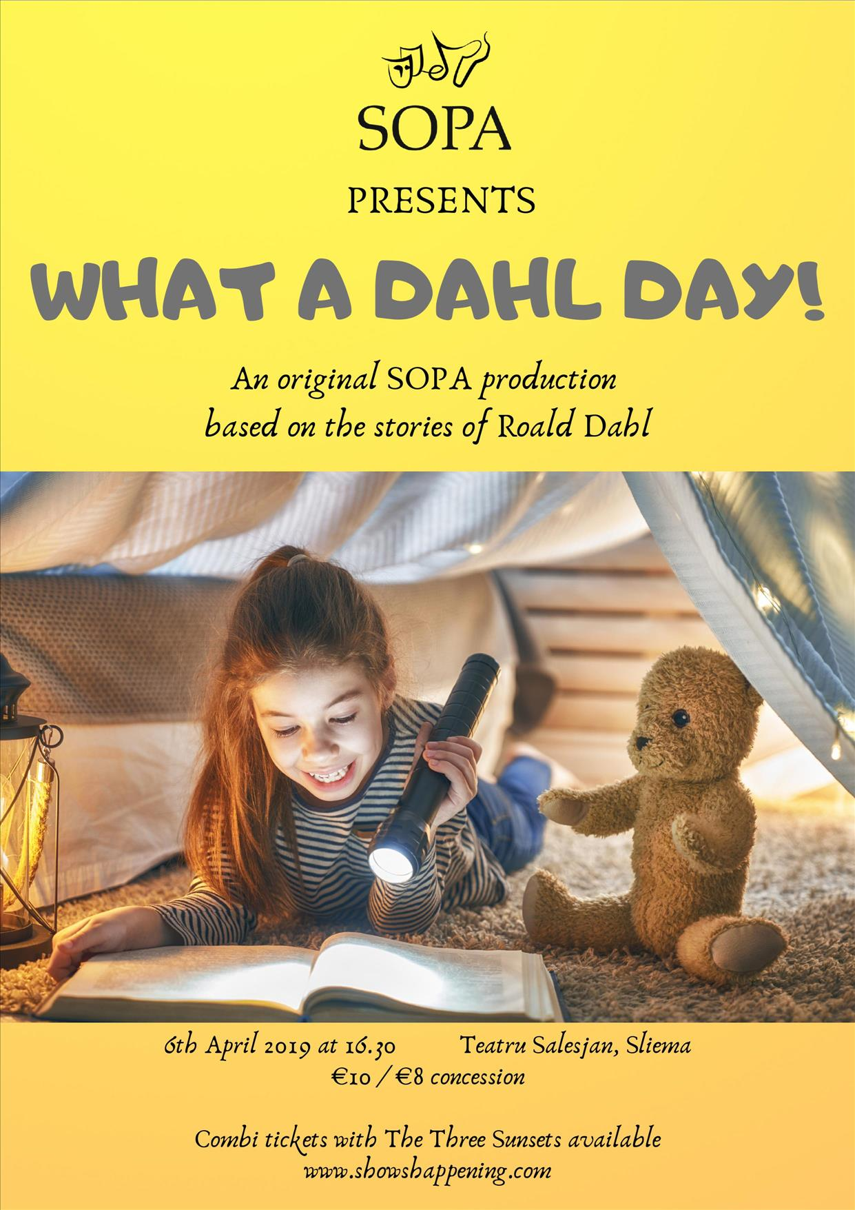 What A Dahl Day! flyer