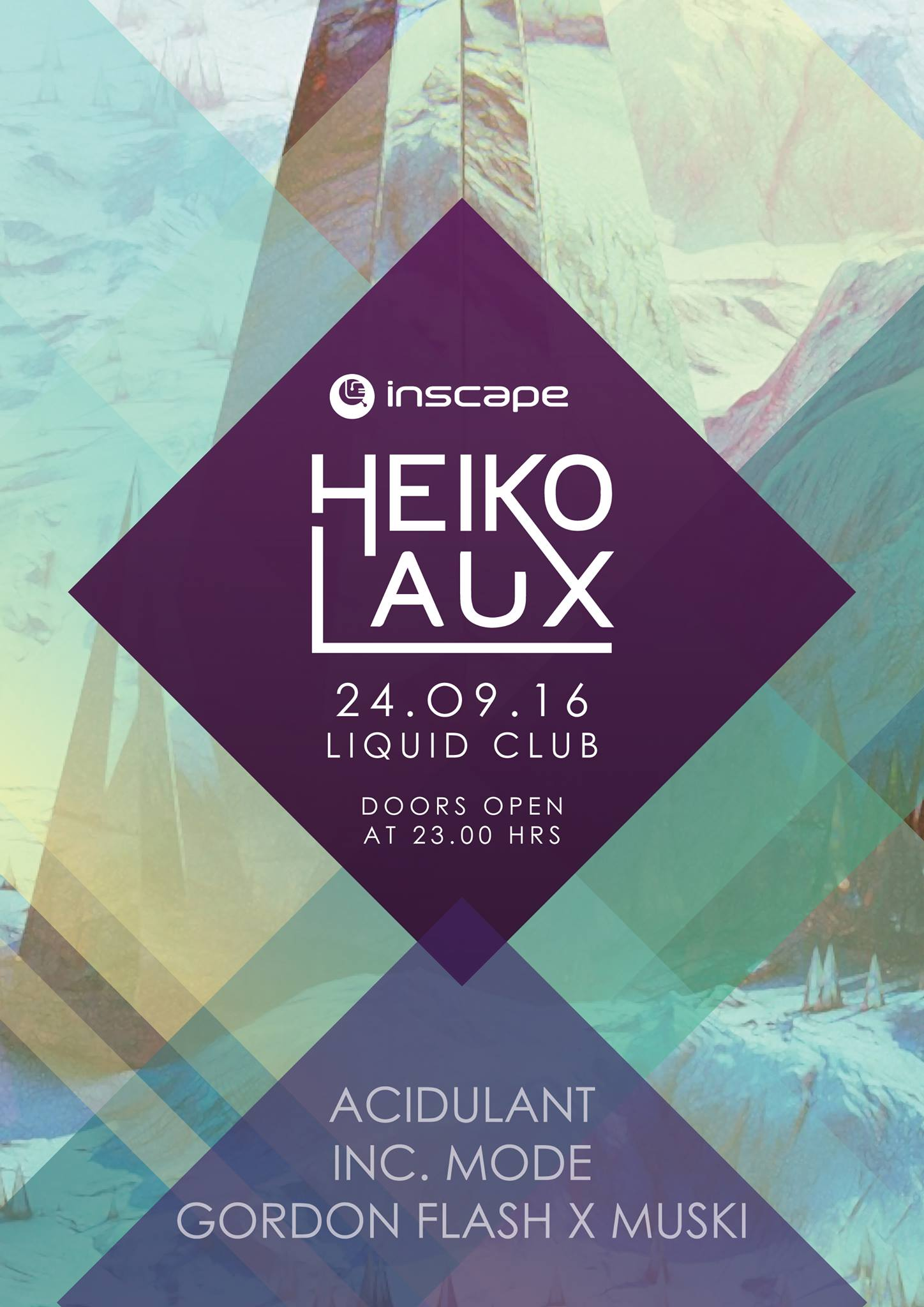 Inscape - Heiko Laux - 24.09.16 flyer