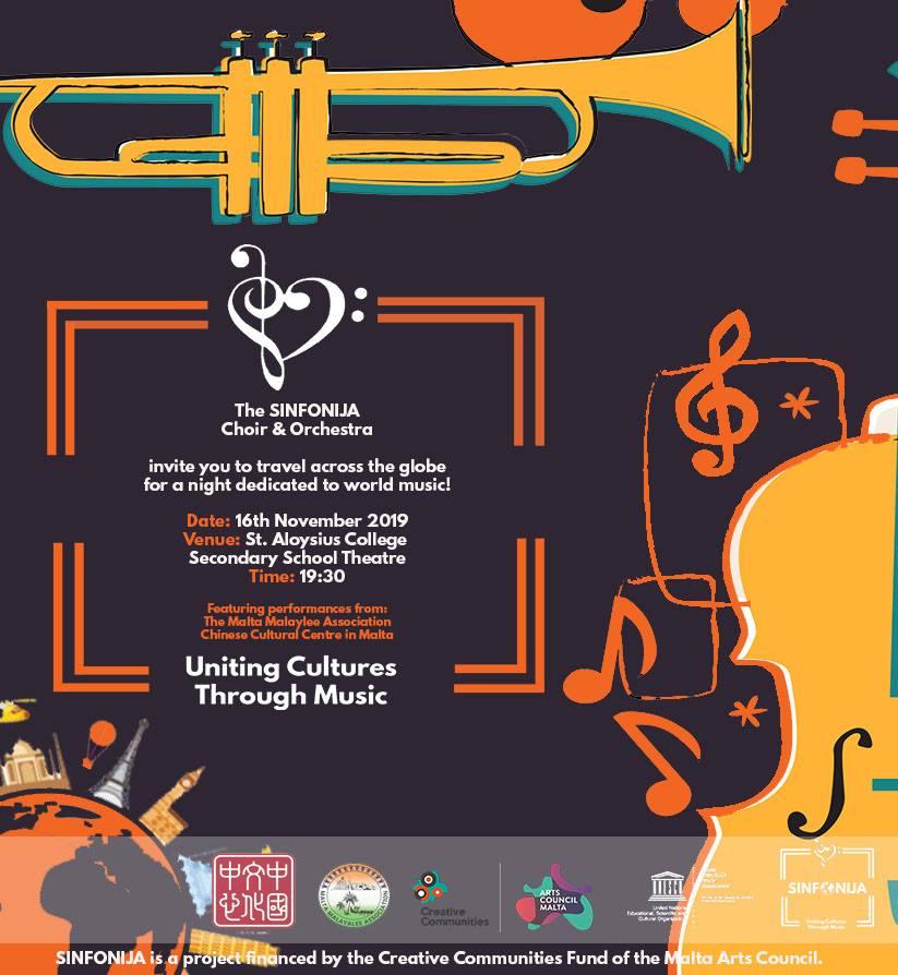 SINFONIJA - Uniting Cultures through Music flyer