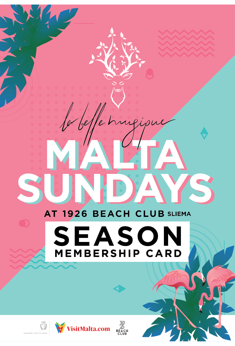 La Belle Musique Malta 2019 - Season Memberships flyer