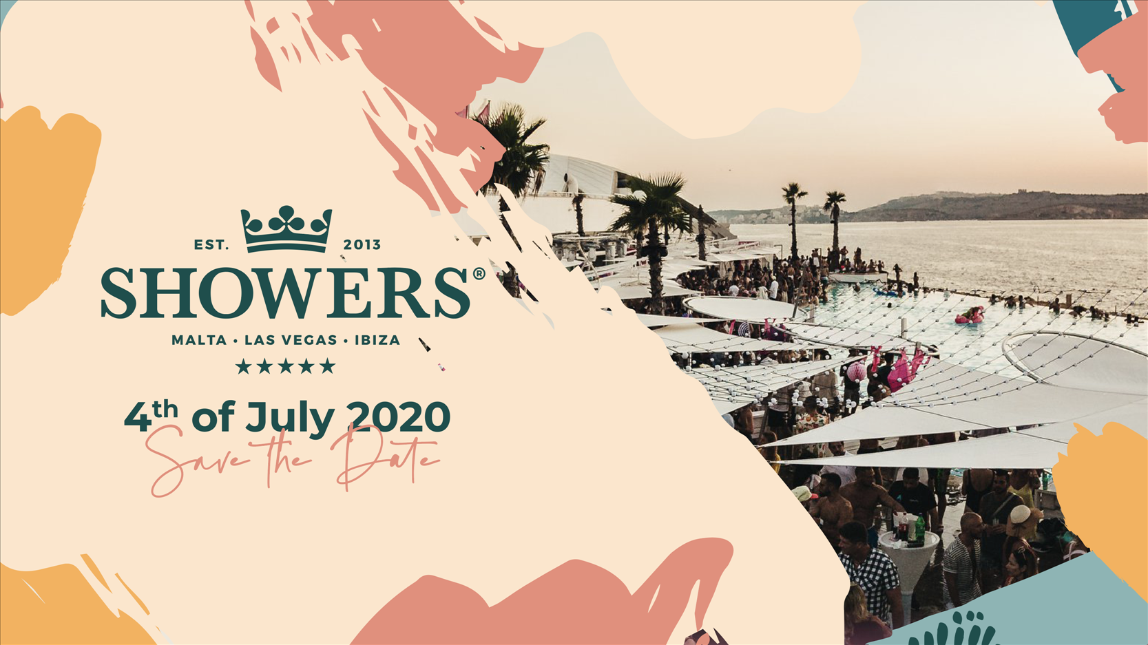 Showers 2020 - Pre-Launch Special flyer
