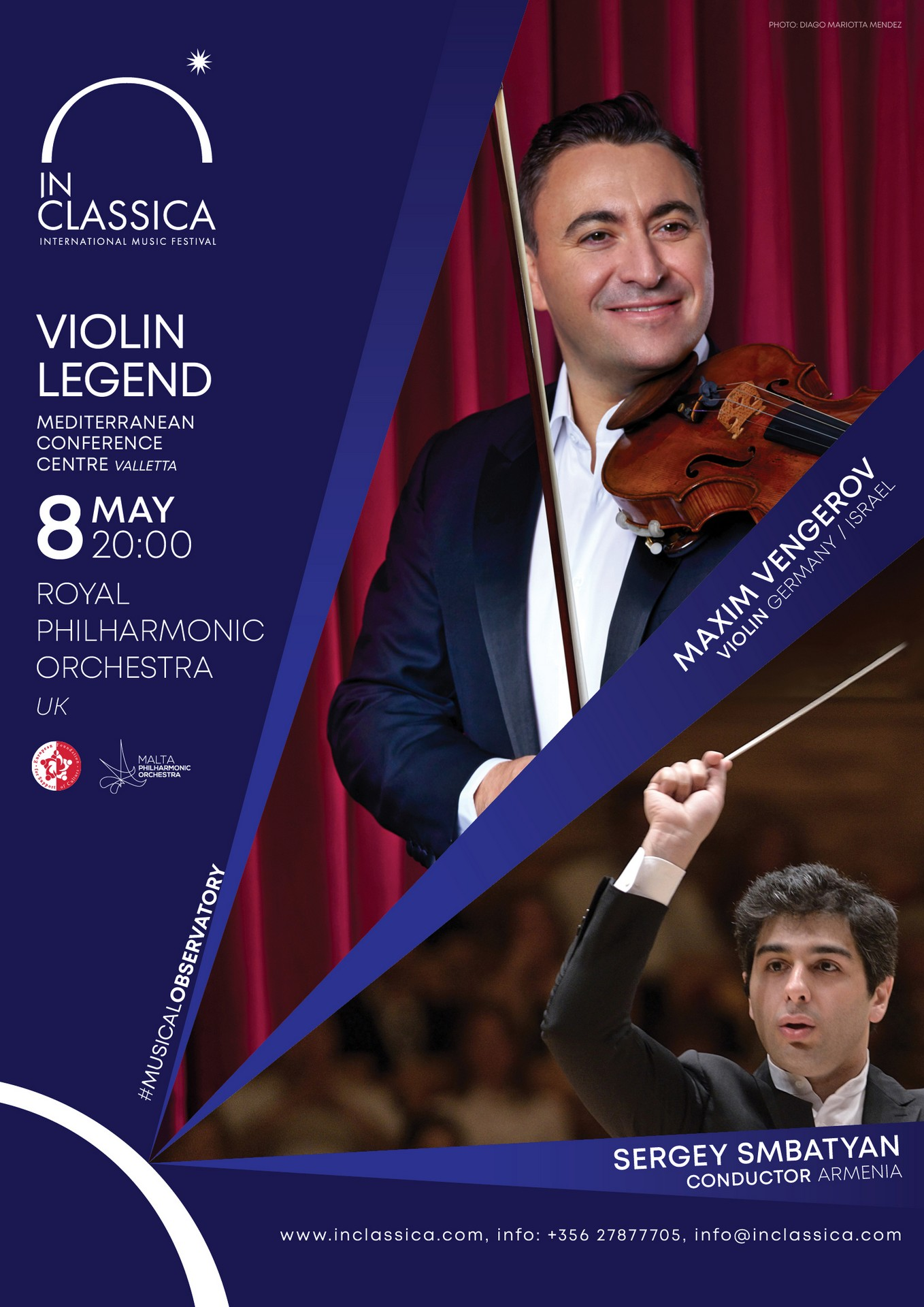 MAXIM VENGEROV – VIOLIN LEGEND flyer