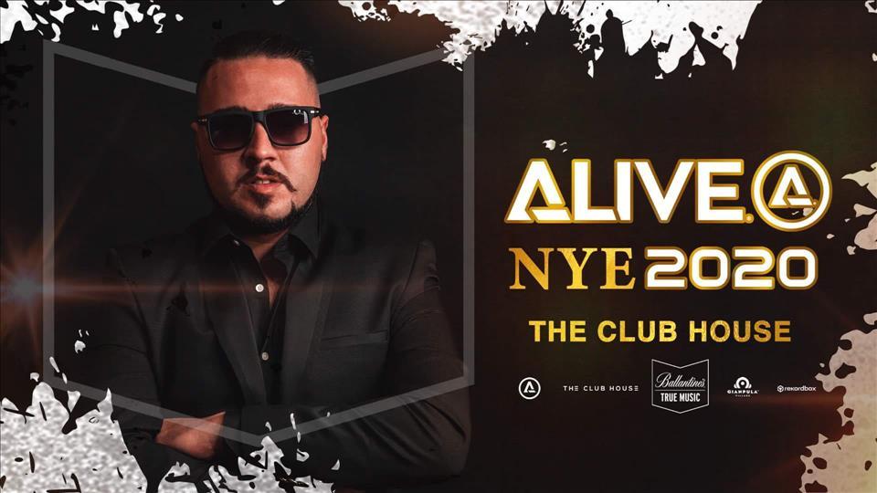 ALIVE NYE 2020 flyer