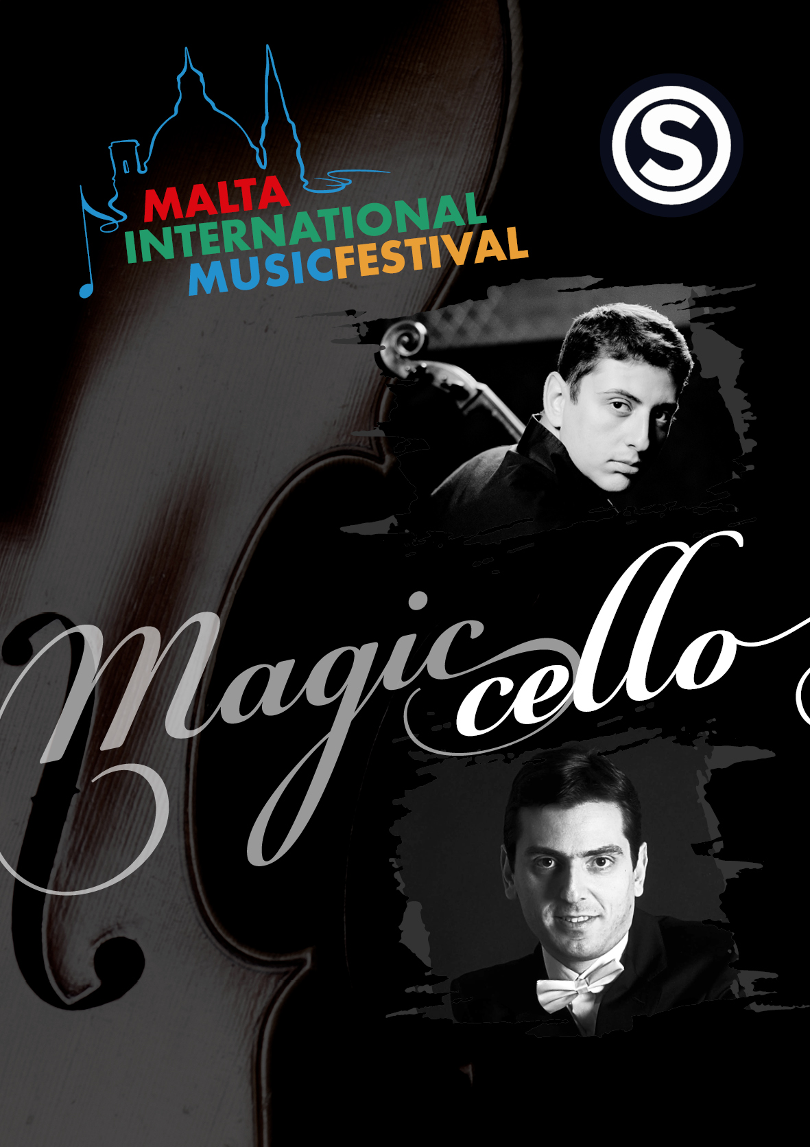 THE MAGIC CELLO- NAREK HAKHNAZARYAN flyer