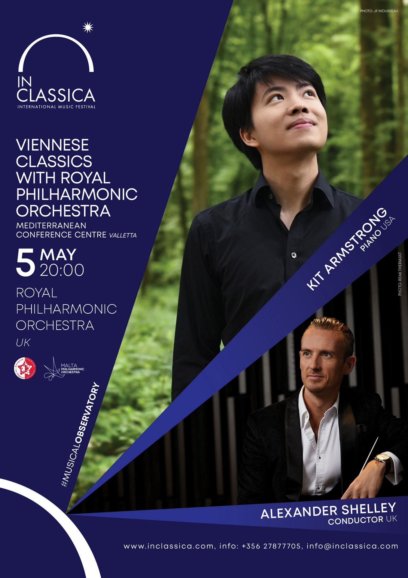 VIENNESE CLASSICS WITH ROYAL PHILHARMONIC ORCHESTRA flyer