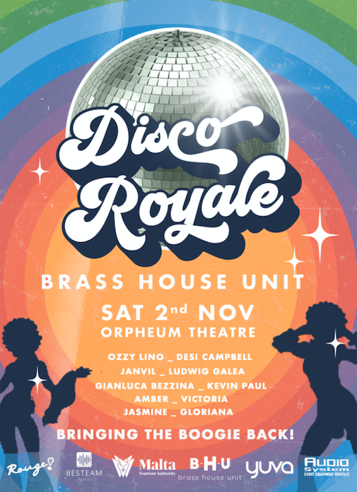 Disco Royale Feat. Brass House Unit flyer