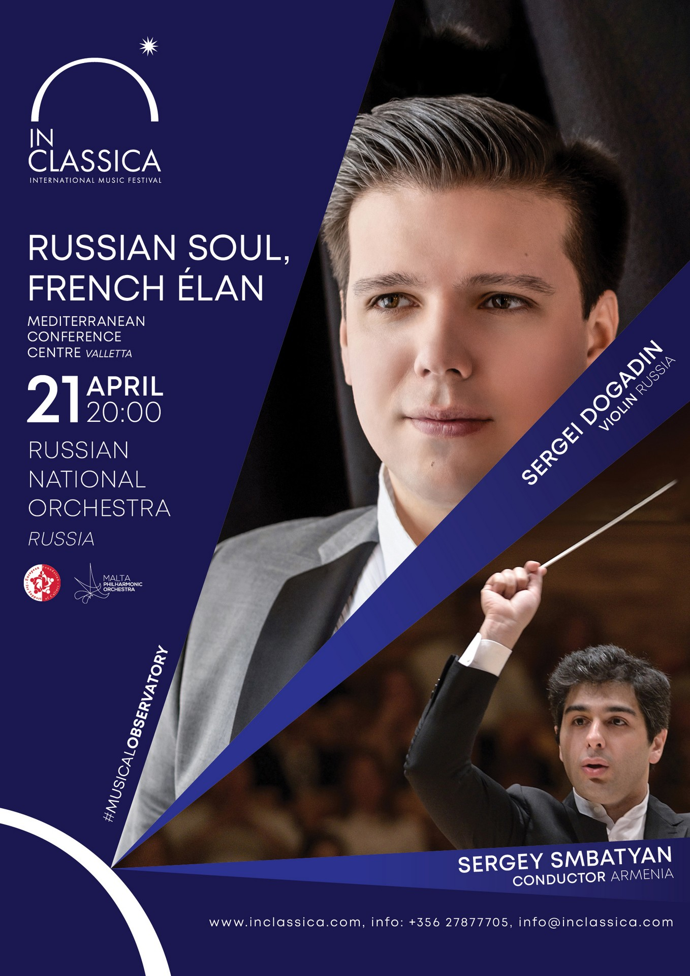 InClassica: RUSSIAN SOUL, FRENCH ÉLAN flyer