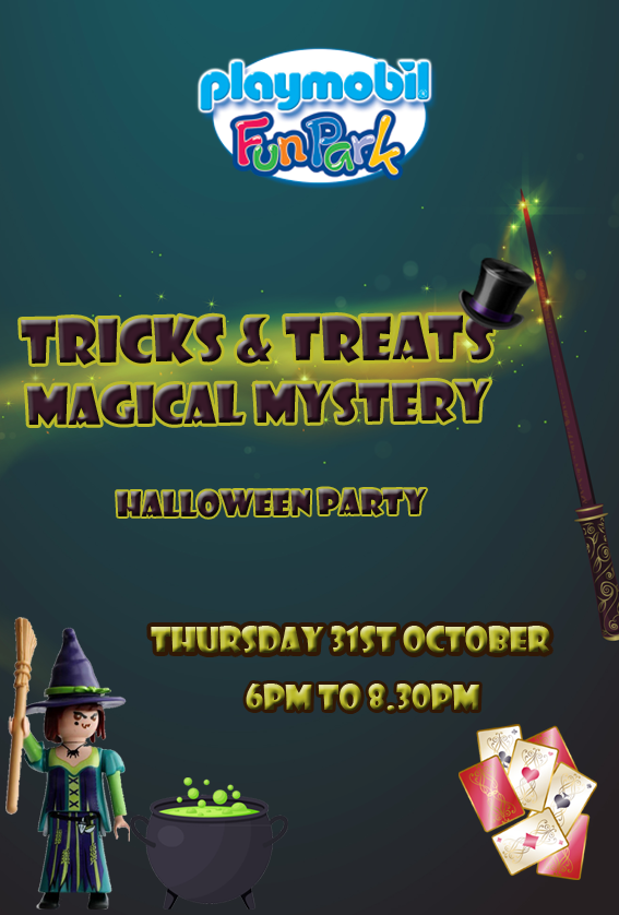 Tricks & Treats, Halloween Party flyer