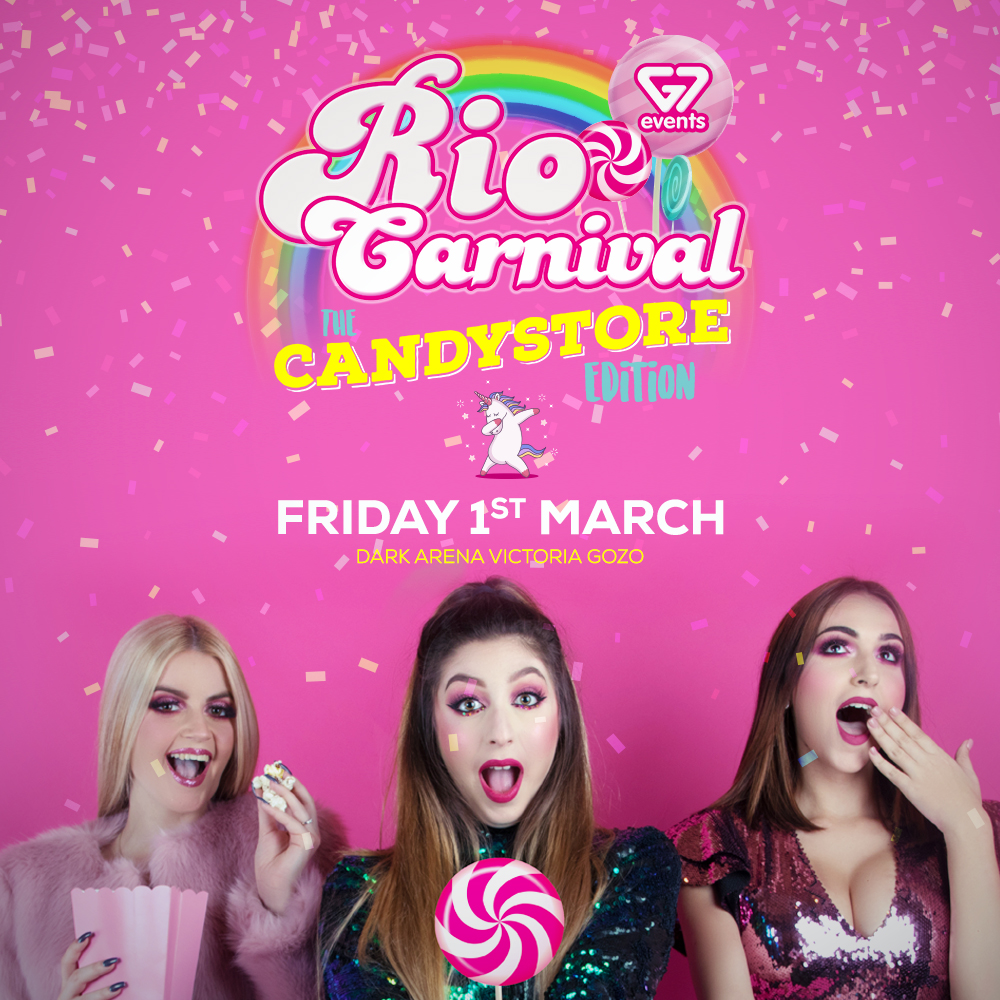 G7 presents RIO Carnival - Candystore Edition flyer