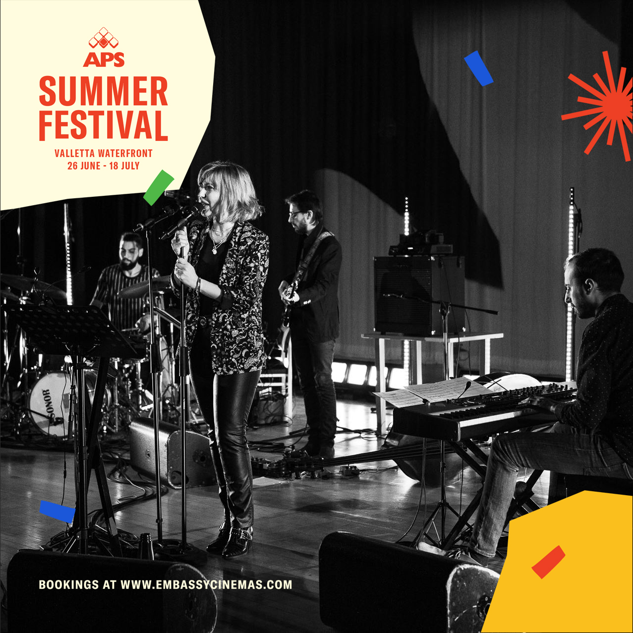 Il-Hoss tal-Ghabex APS Summer Festival flyer