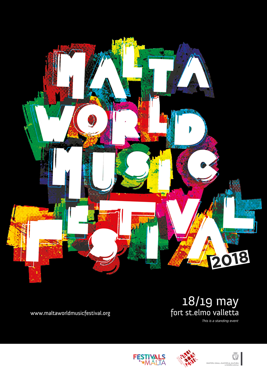 Malta World Music Festival flyer