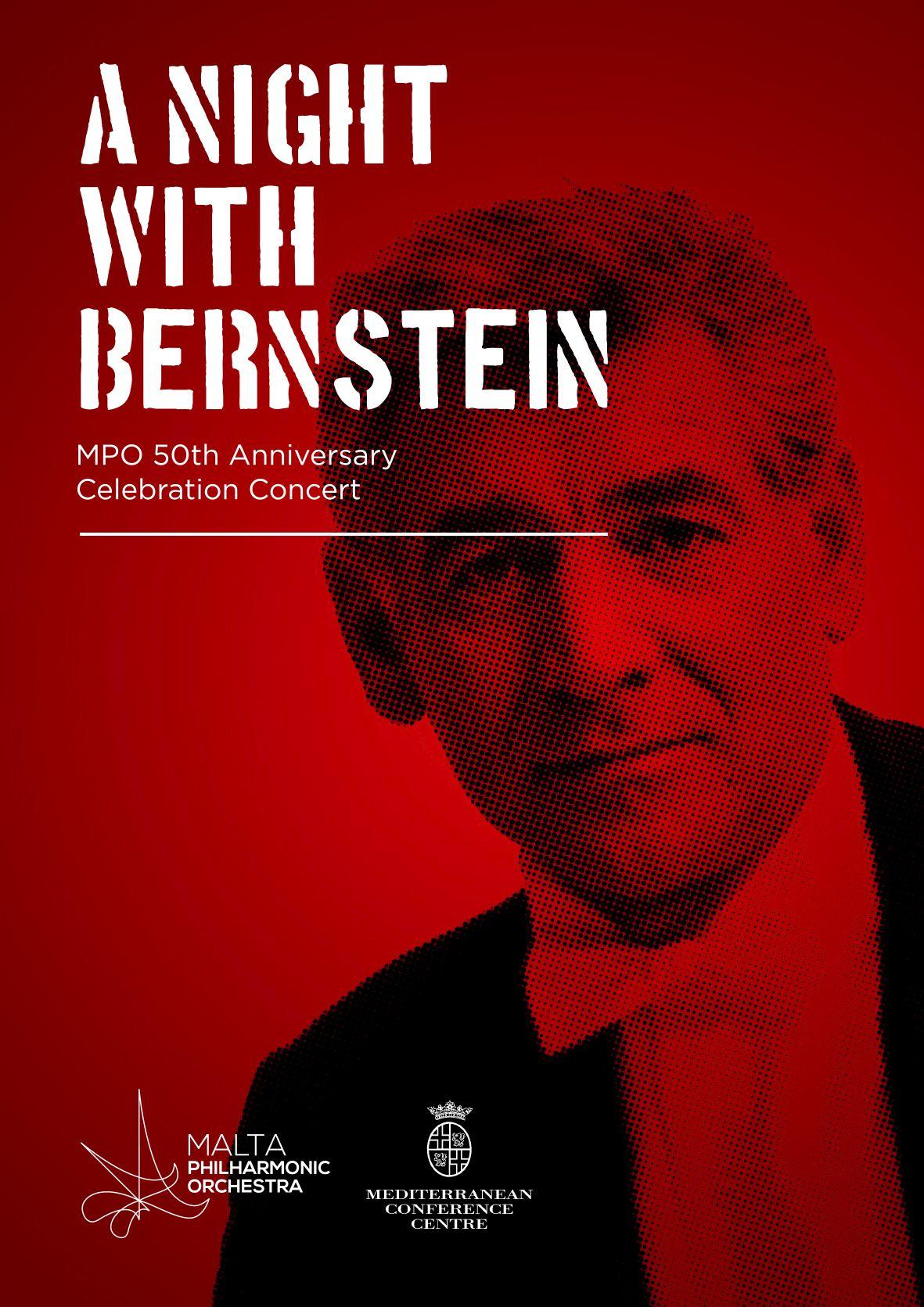 A Night With Bernstein flyer