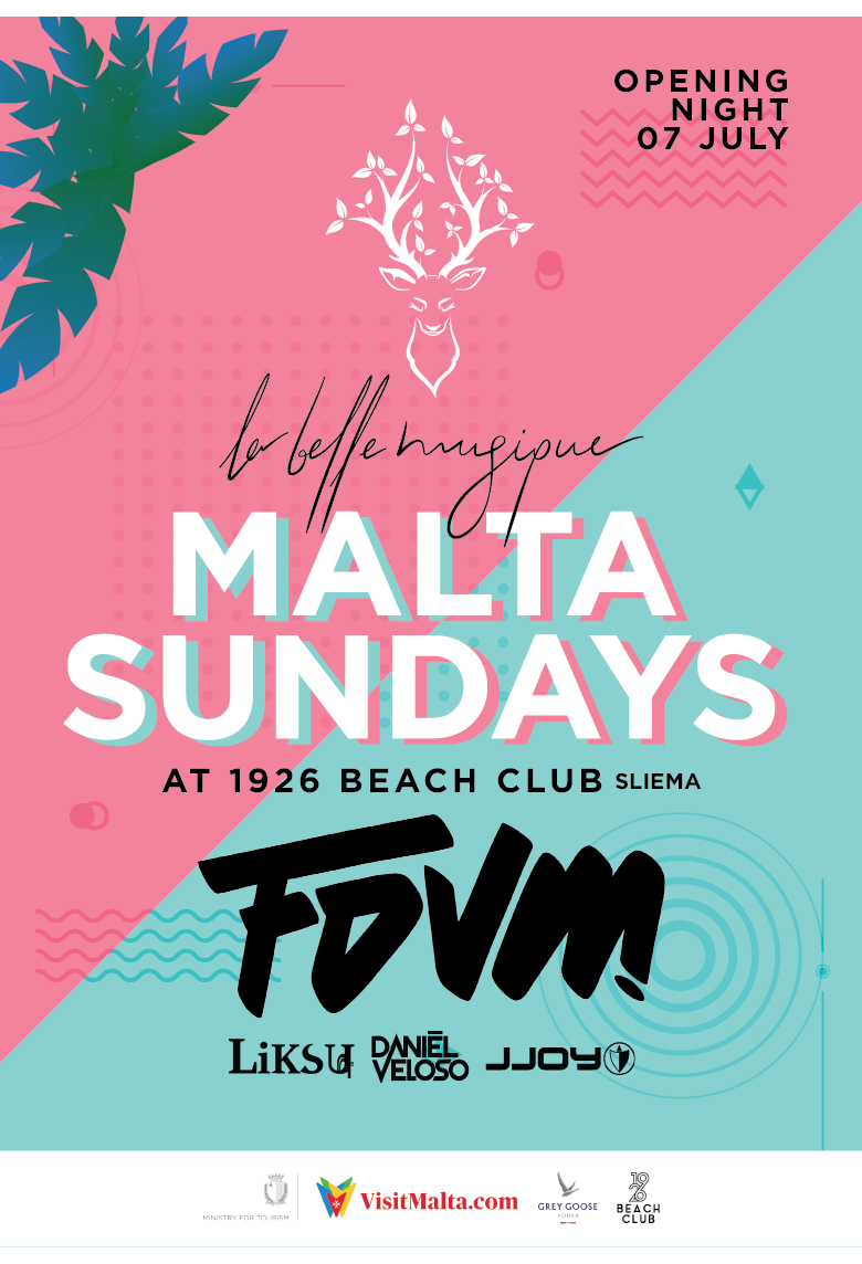 La Belle Musique Malta 2019 - Opening Night ft. FDVM flyer