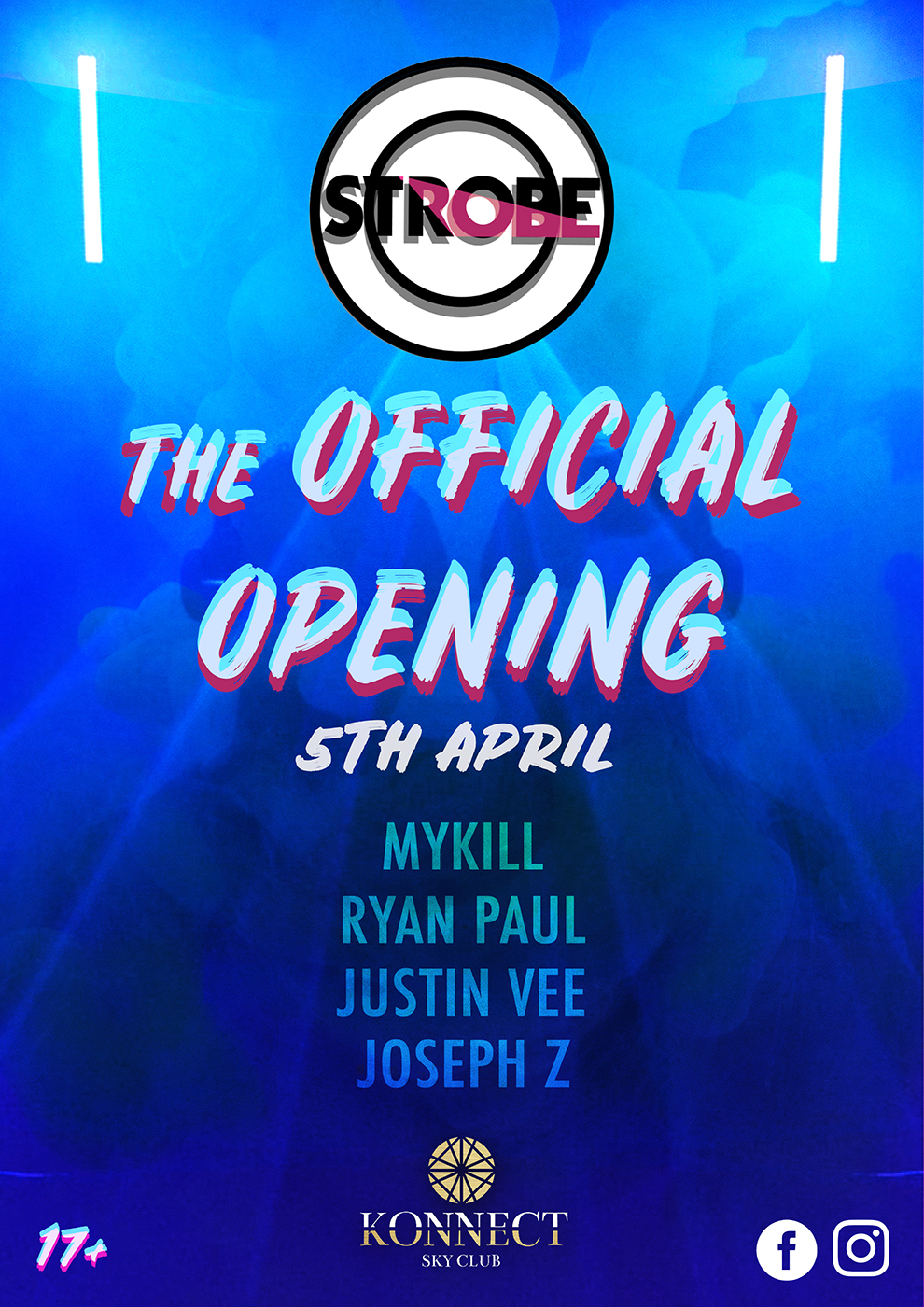 Strobe - The Official Opening flyer