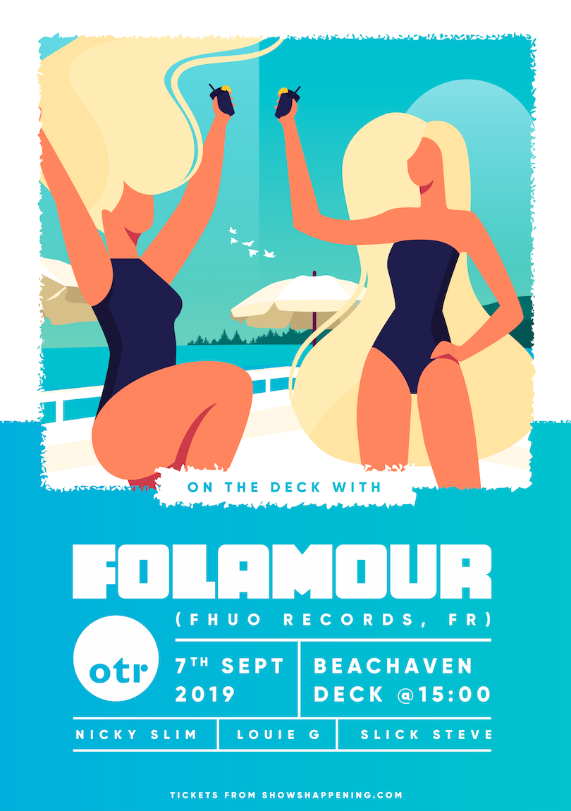 OTR On The Deck w/ Folamour flyer